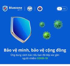 Thông điệp cài đặt Bluezone