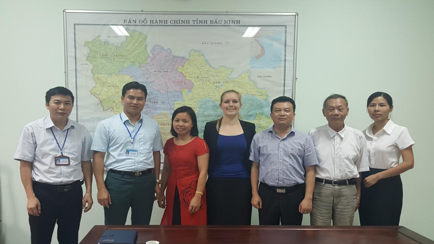 Triển khi Dự án Lập bản đồ ô nhiễm môi trường đất tỉnh Bắc Ninh
