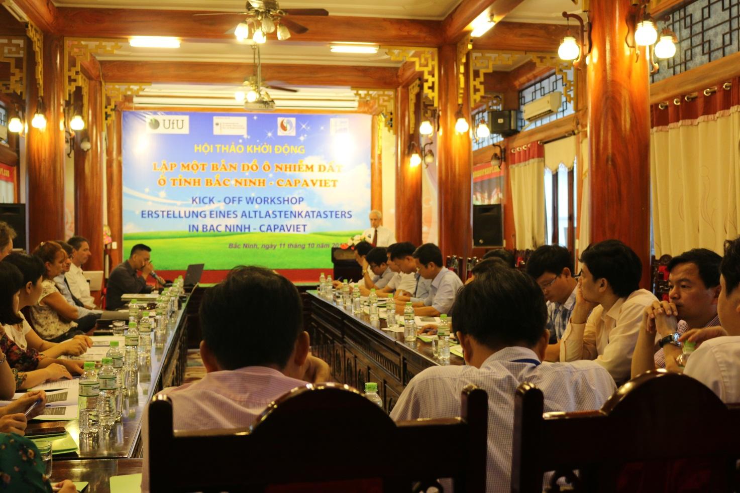 Hội thảo về xây dựng bản đồ ô nhiễm đất